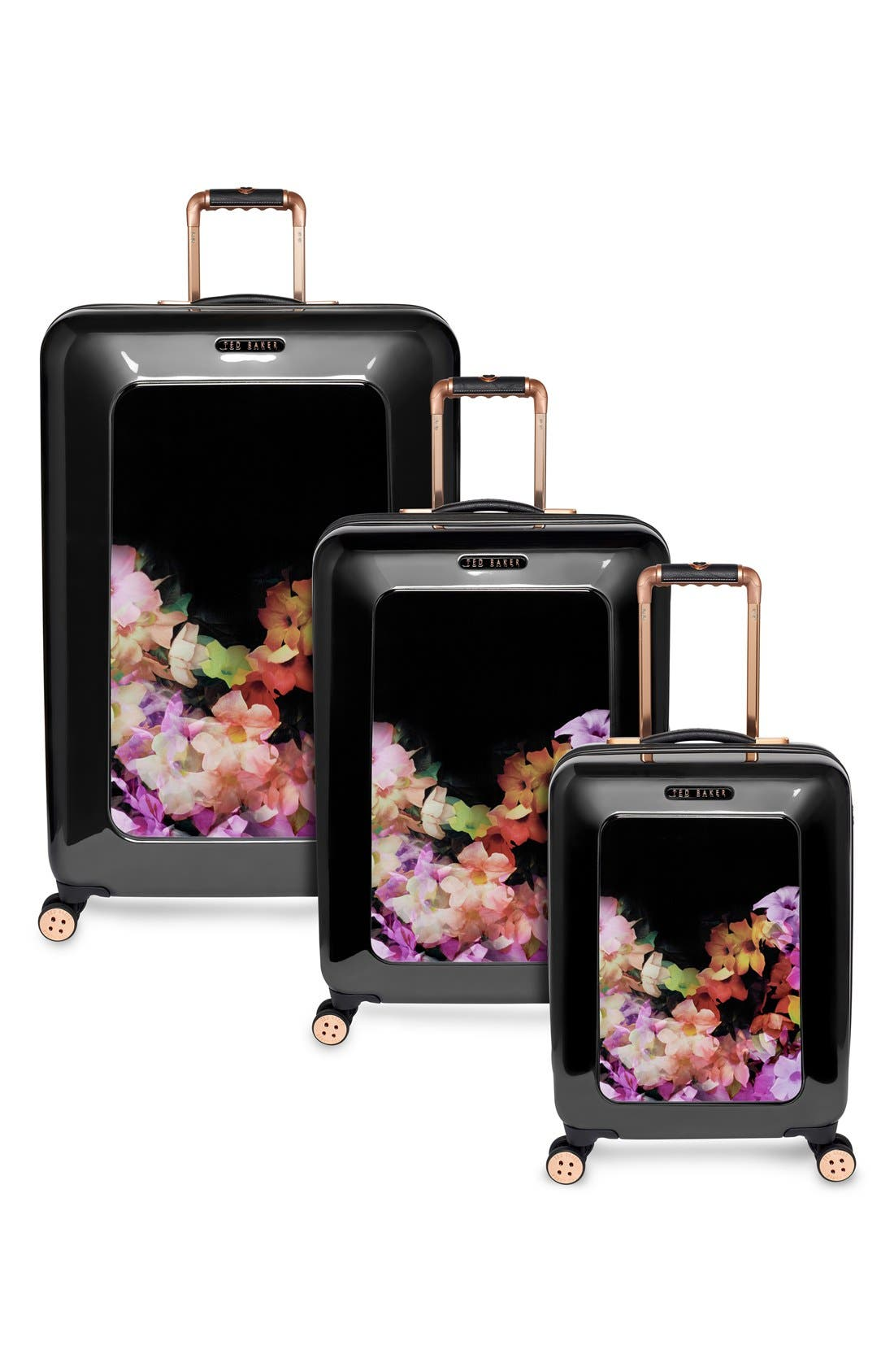Alternate Image 5  - Ted Baker London 'Small Cascade Floral' Hard Shell Suitcase (22 Inch)