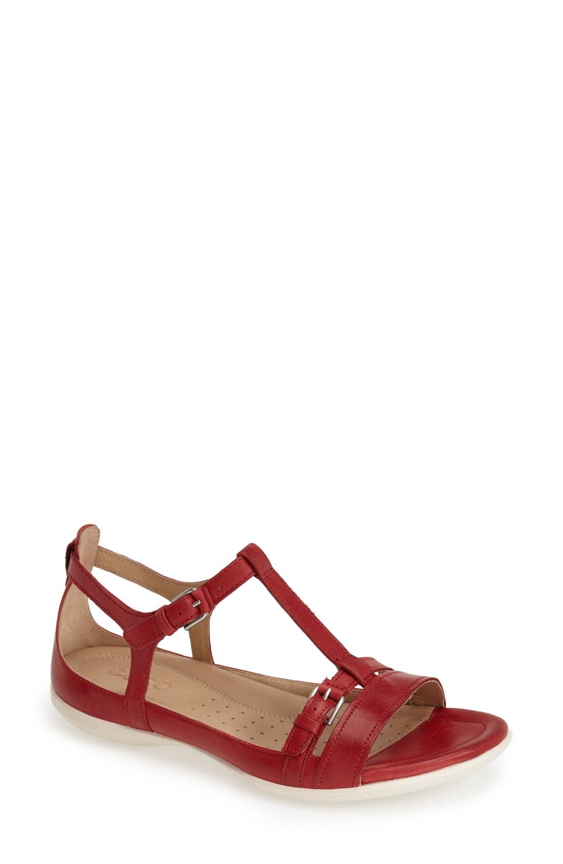 Alternate Image 1 Selected - ECCO 'Flash' T-Strap Sandal (Special Purchase)