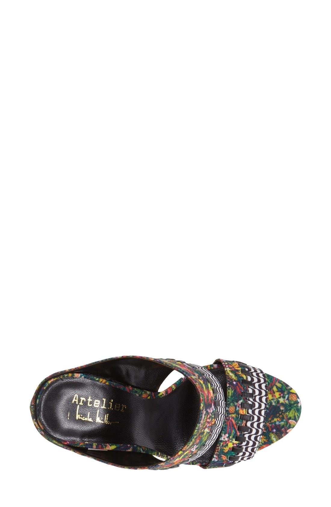 Alternate Image 3  - Nicole Miller 'Orlando' Wedge Sandal (Women)