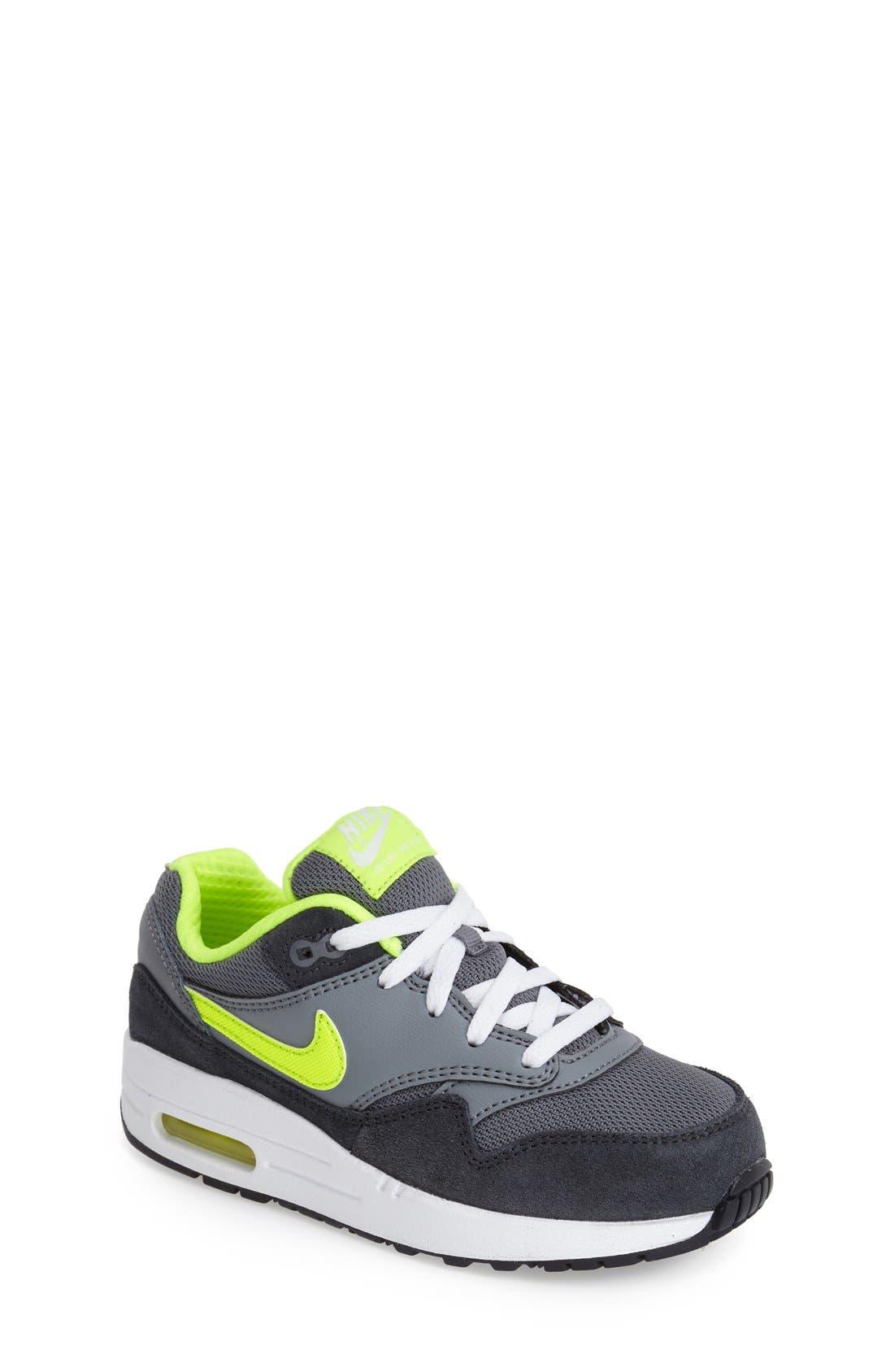 Alternate Image 1 Selected - Nike 'Air Max 1 PS' Sneaker (Toddler & Little Kid)