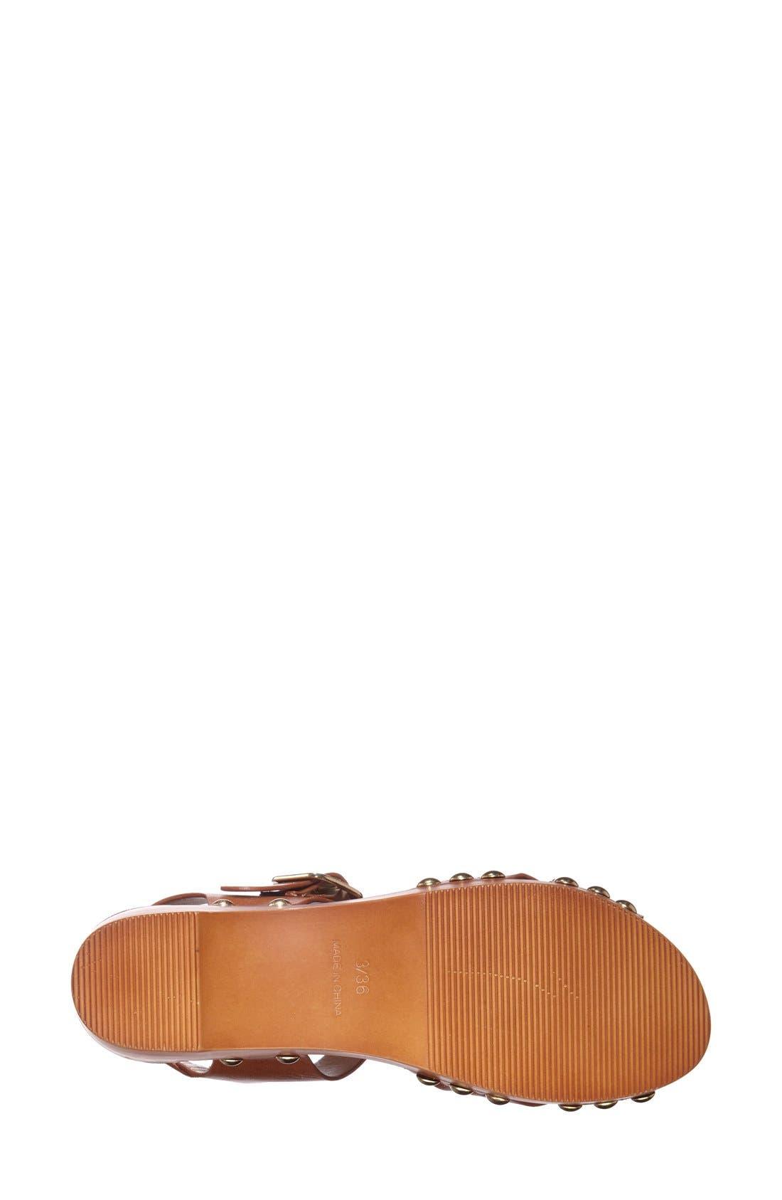 Alternate Image 4  - Topshop Clog Wedge Sandal (Women)