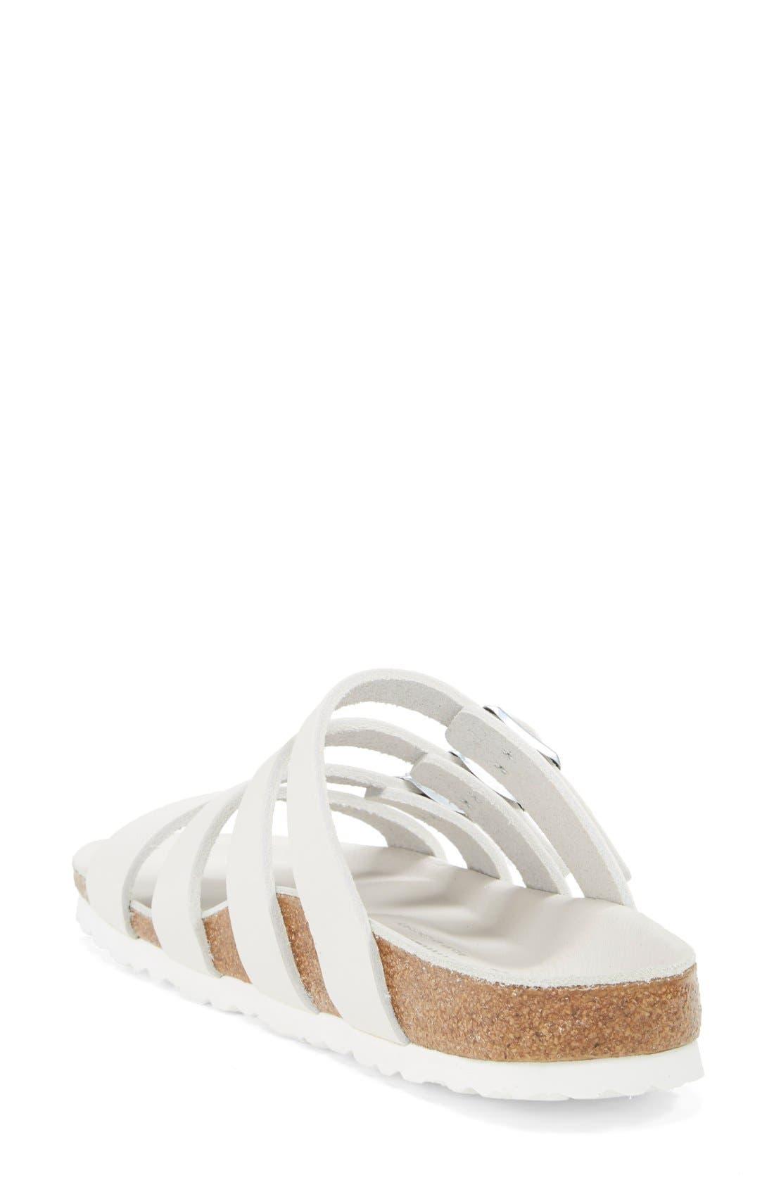 Alternate Image 2  - Birkenstock 'Delmas' Leather Sandal (Women)