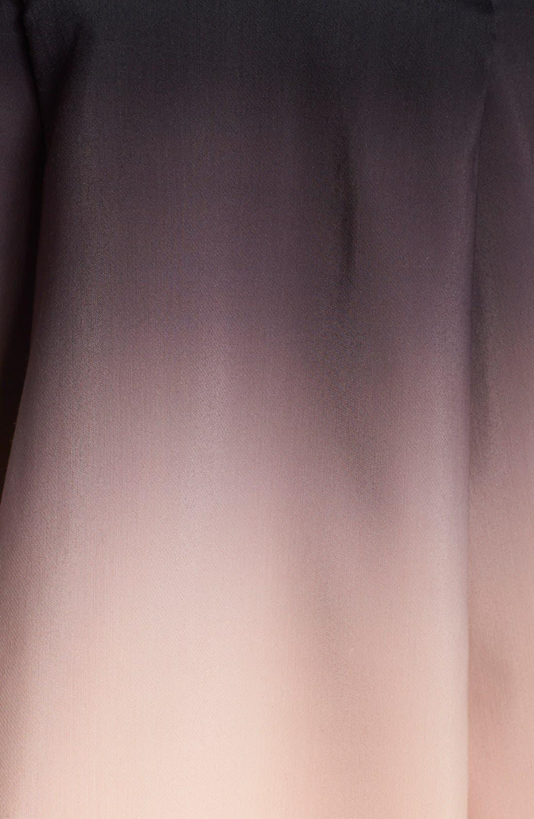 Alternate Image 4  - Halston Heritage Ombré Strapless Dress