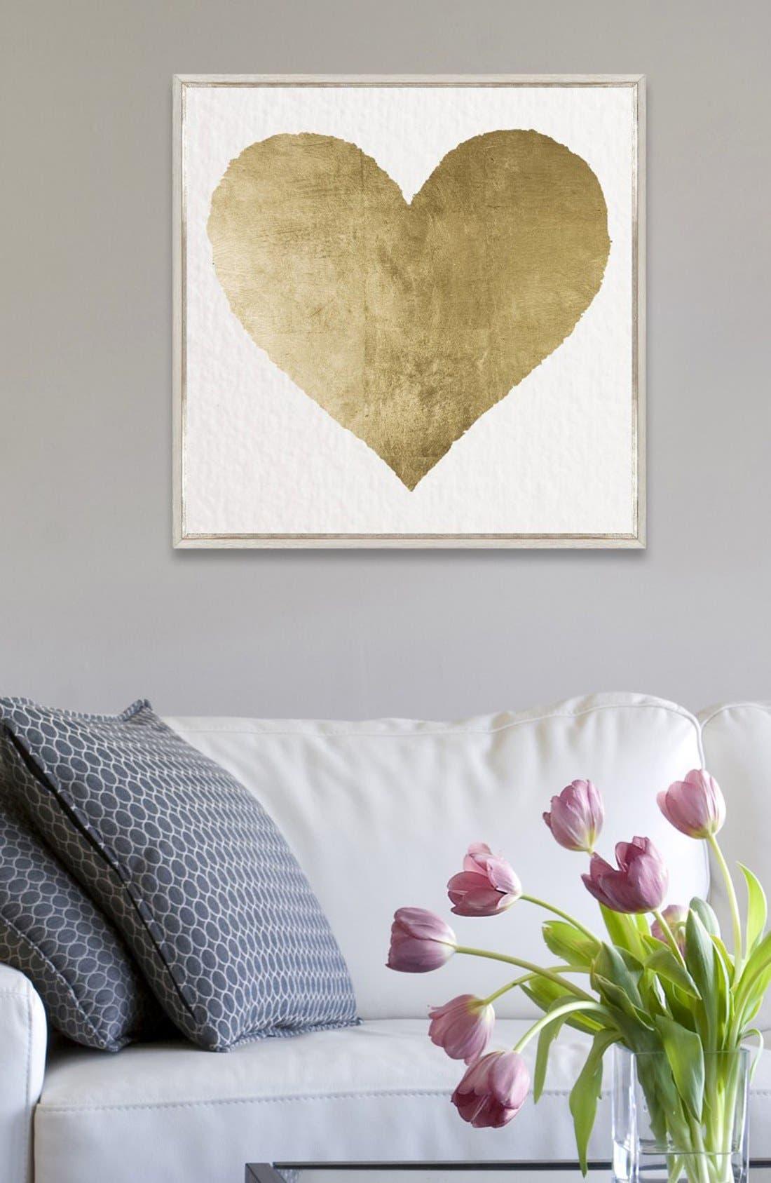 Alternate Image 2  - Oliver Gal 'Forever & Ever' Framed Canvas Print