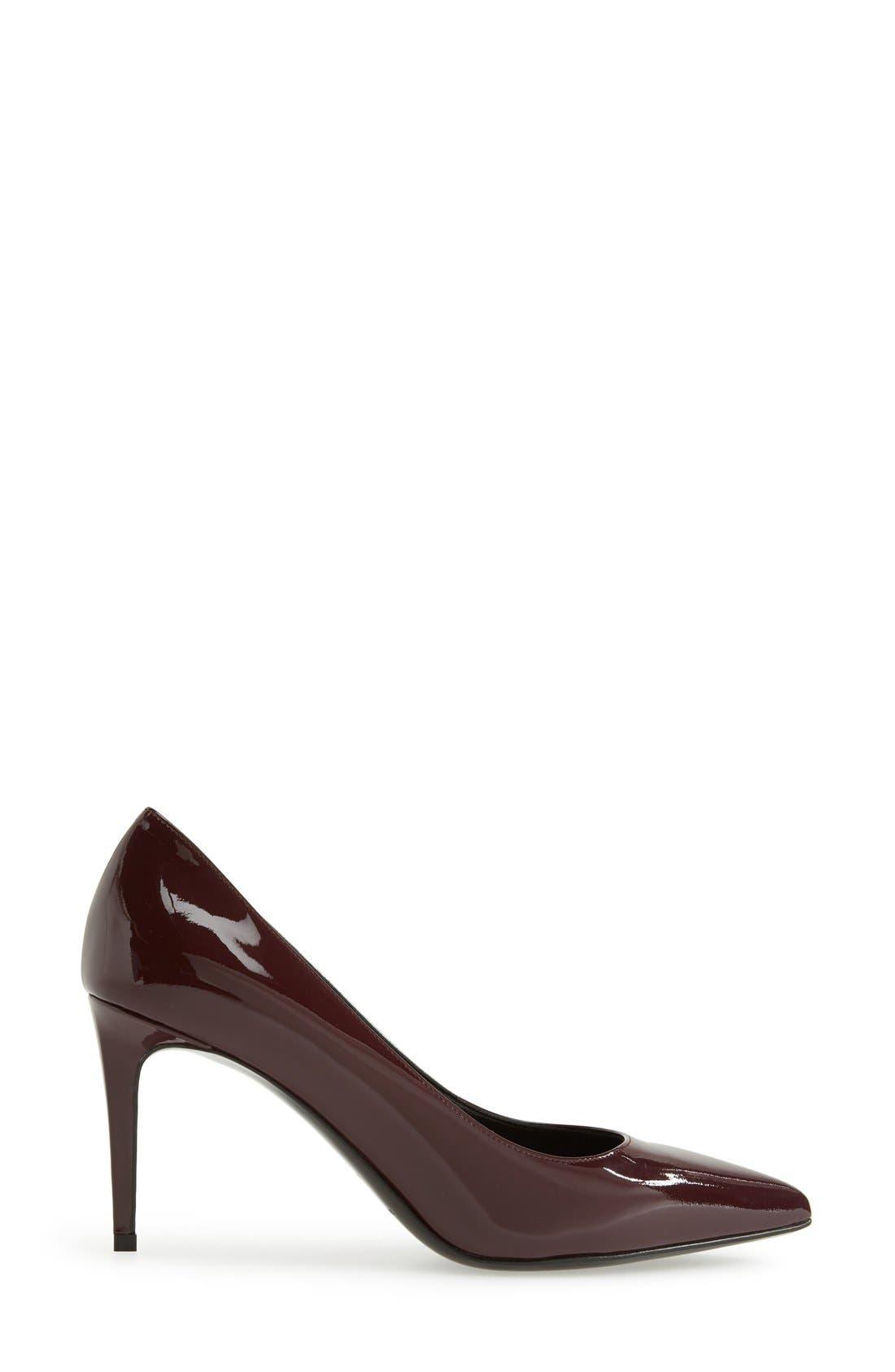Alternate Image 4  - Saint Laurent 'Paris' Pointy Toe Pump (Women)
