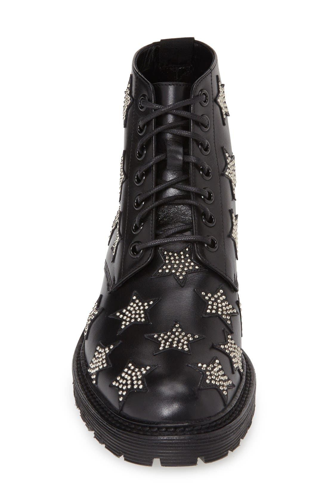 Alternate Image 3  - Saint Laurent 'Army' Lace-Up Boot (Women)
