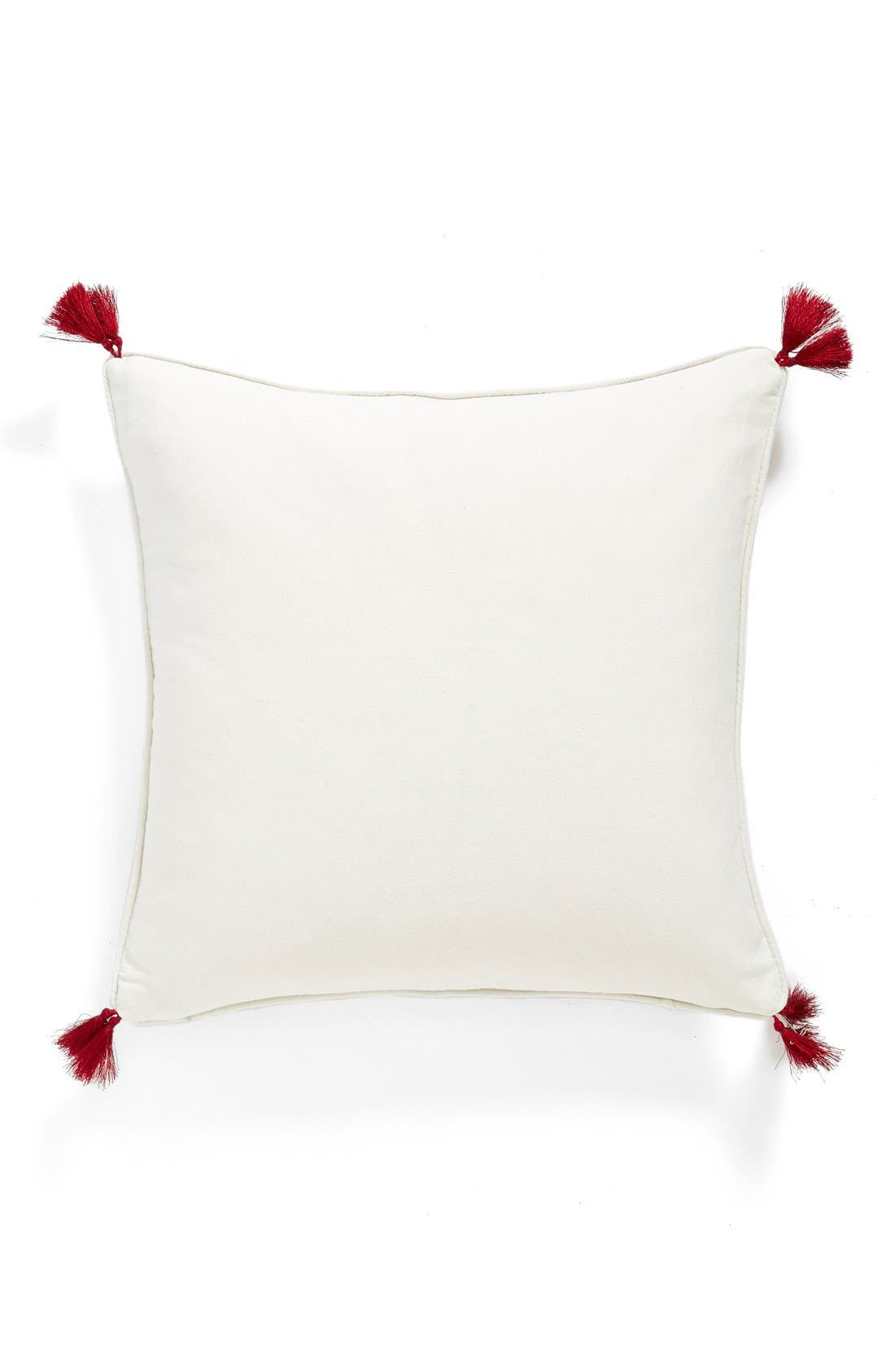 Alternate Image 2  - Levtex 'Roma - You Are The Best Part Of My Day' Tasseled Accent Pillow