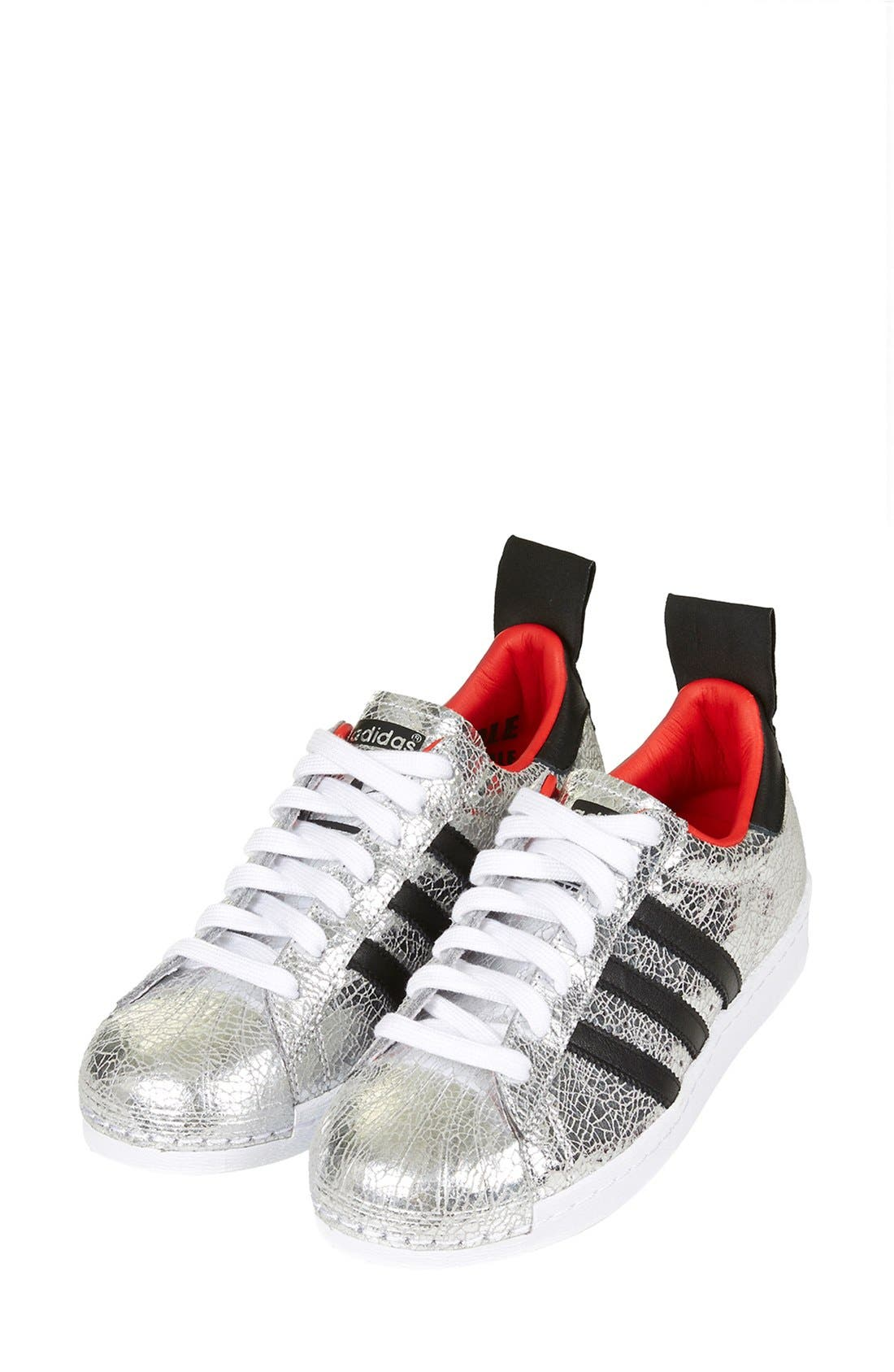Alternate Image 6  - Topshop for adidas Originals '80s Premium Superstar' Sneaker (Women)
