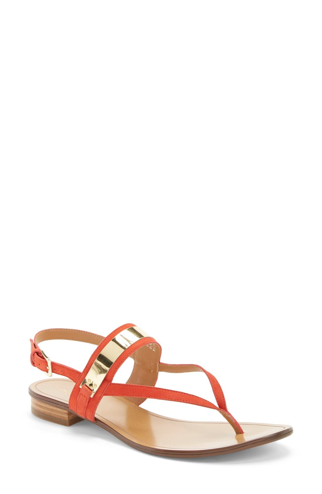 Alternate Image 1 Selected - Halogen® 'Rita' Thong Sandal (Women)