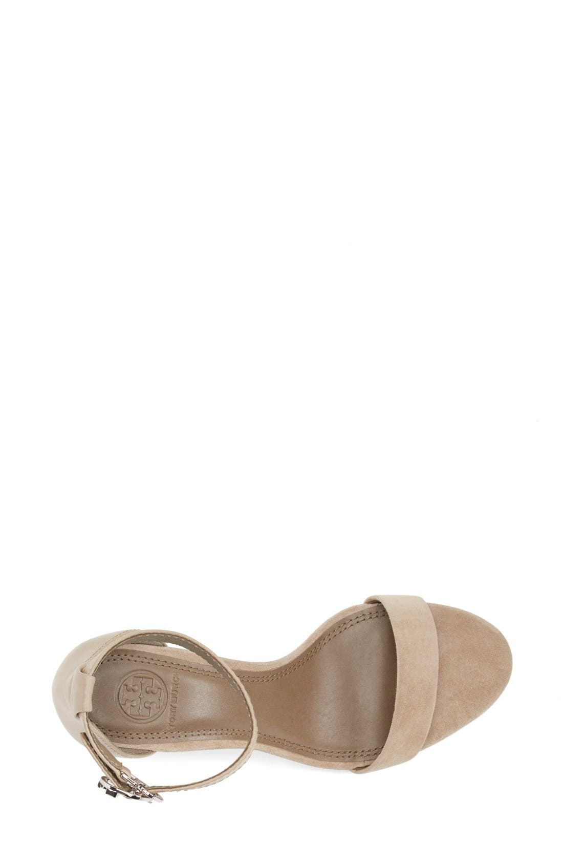 Alternate Image 3  - Tory Burch 'Thames' Ankle Strap Wedge Sandal (Women)