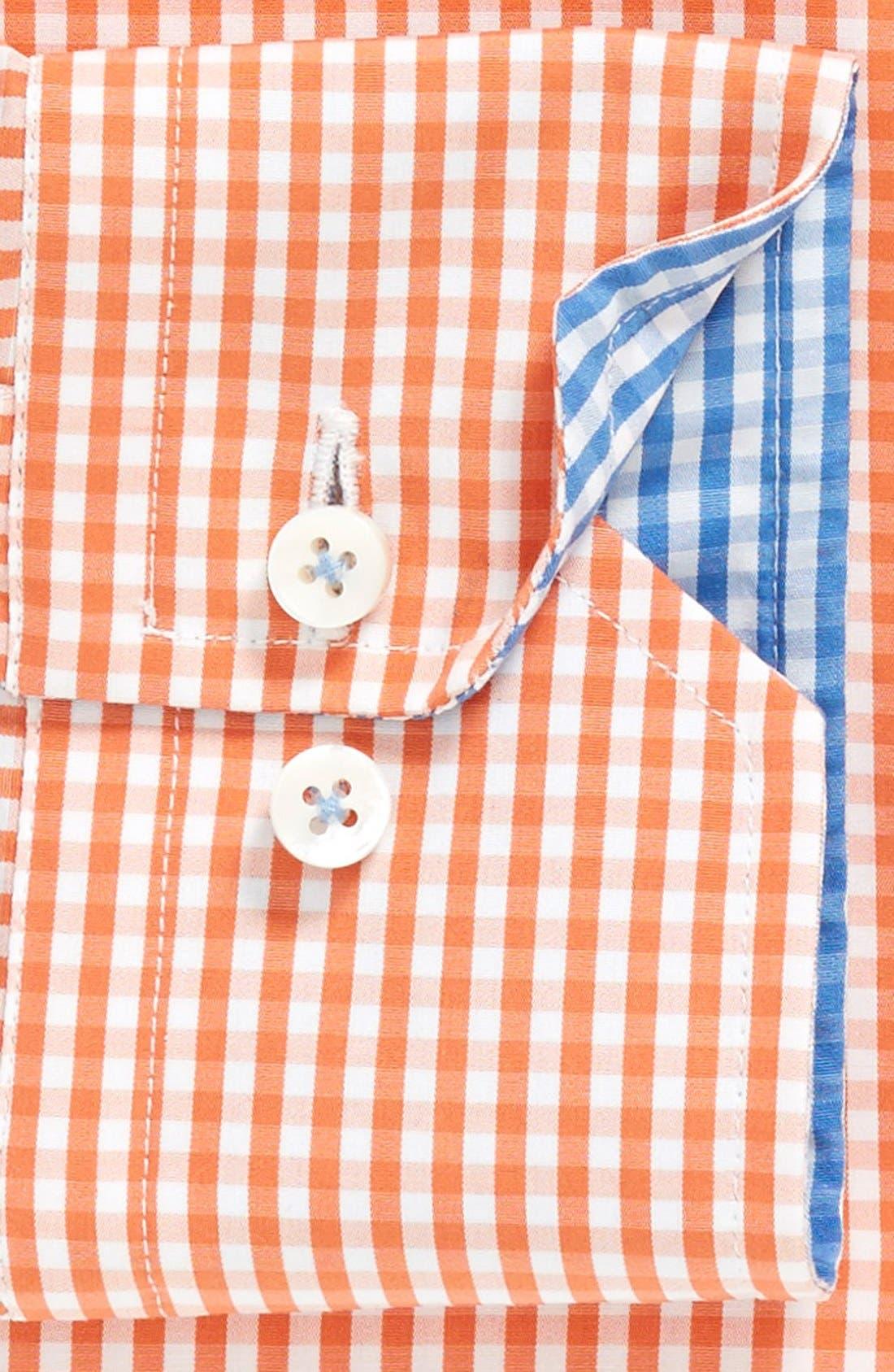 Alternate Image 2  - Robert Talbott Trim Fit Check Dress Shirt