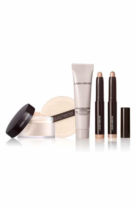 로라메르시에 파우도 아이 세트 Laura Mercier Travel Size Prime, Powder & Eye Set