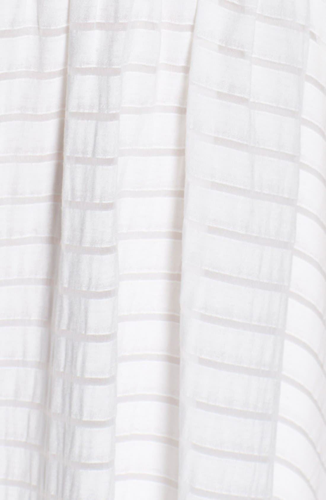 Alternate Image 4  - Plenty by Tracy Reese 'Alana' Shadow Stripe Fit & Flare Dress