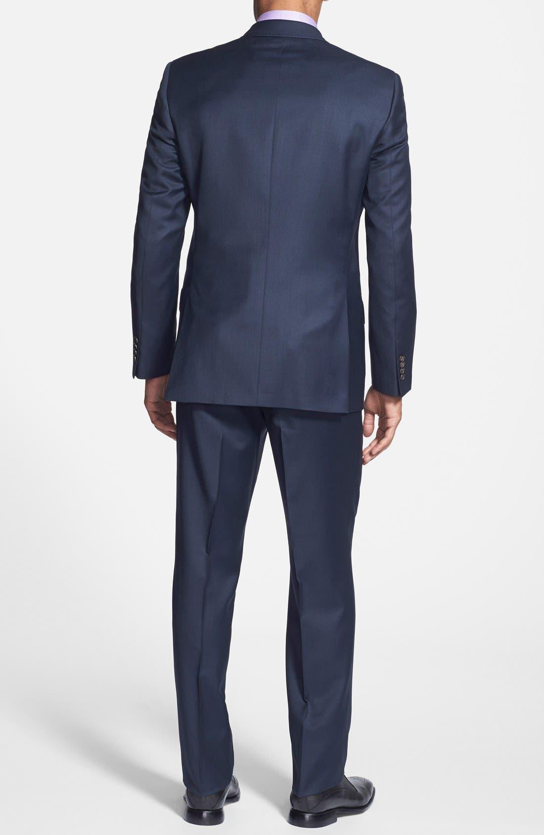 Alternate Image 2  - Ted Baker London Jones Trim Fit Solid Wool Suit