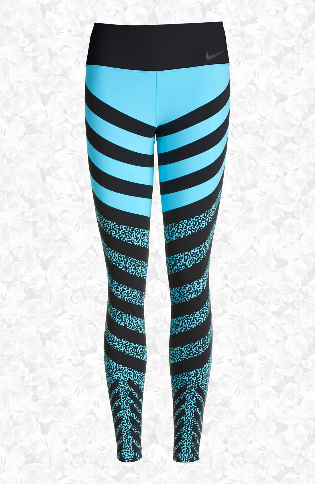 Alternate Image 1 Selected - Nike 'Legendary - Mezzo Zebra' Training Tights