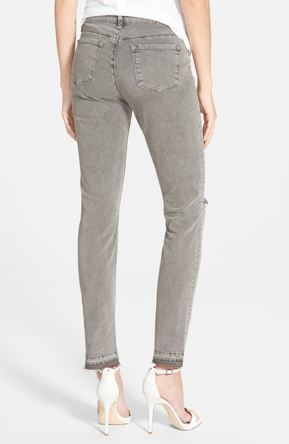 Alternate Image 2  - J Brand Mid Rise Skinny Jeans