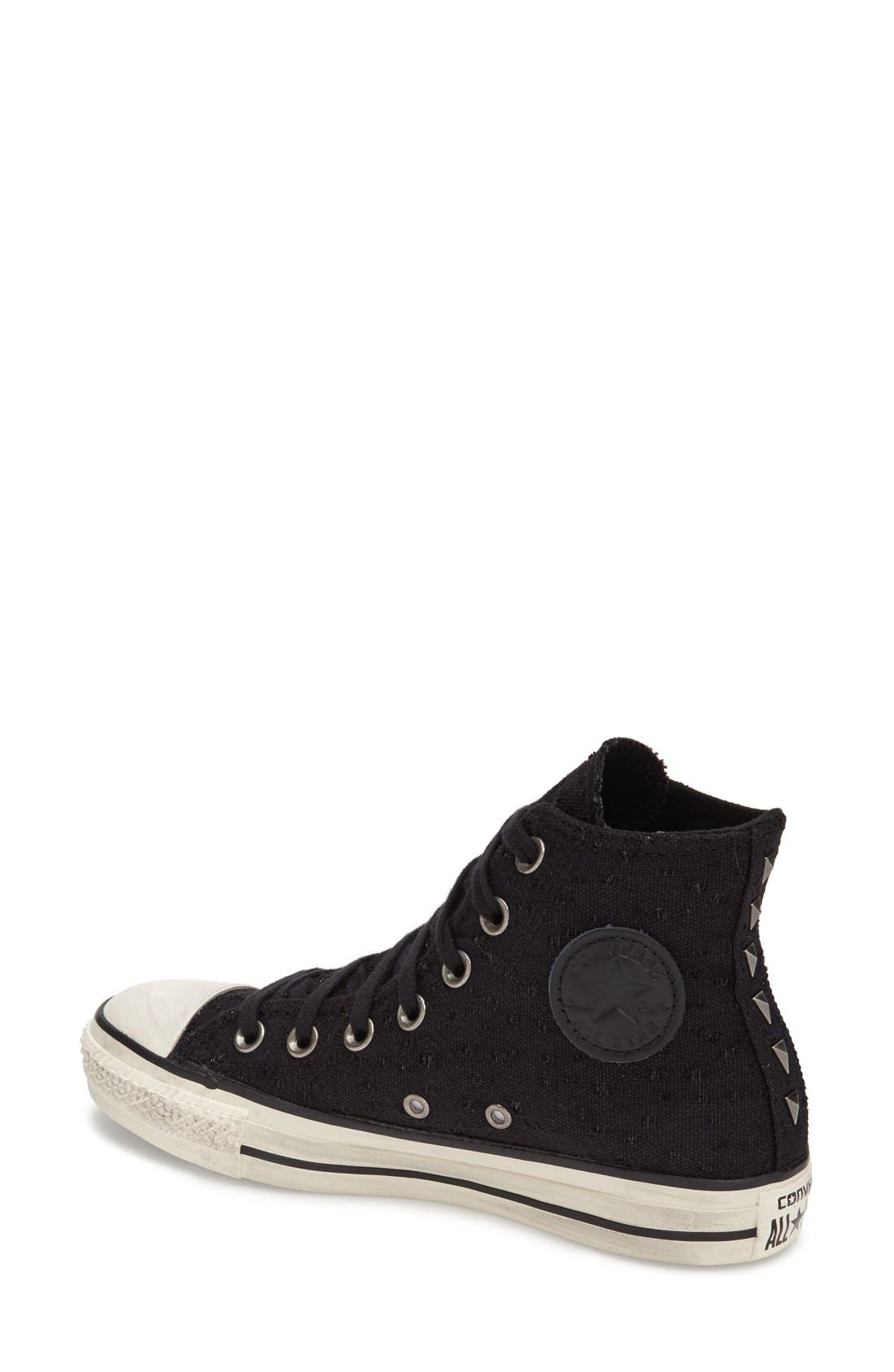 Alternate Image 2  - Converse Chuck Taylor® All Star® 'Star Hardware' High Top Sneaker (Women)