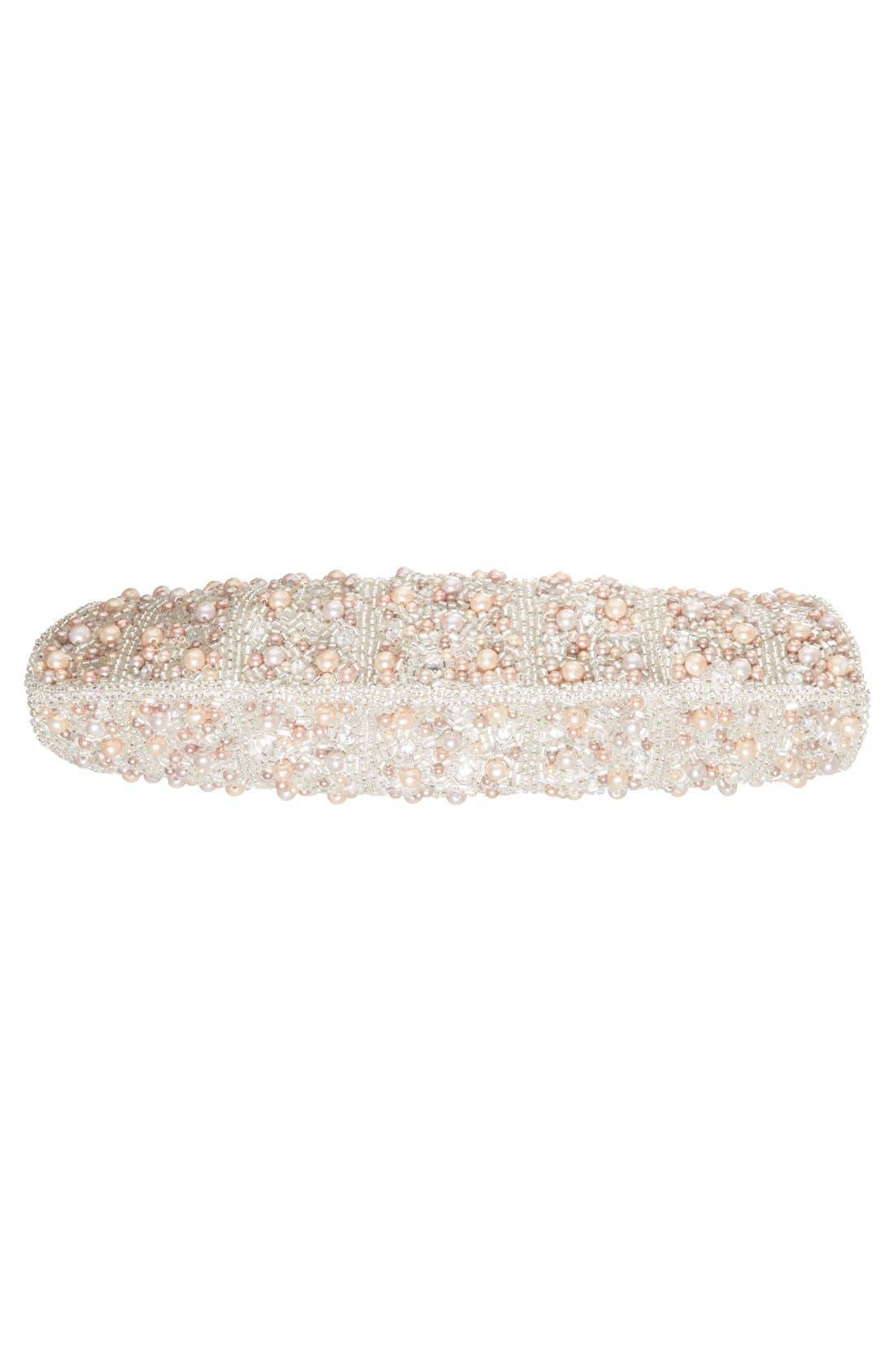 Alternate Image 6  - Glint 'Pearl Encrusted' Clutch