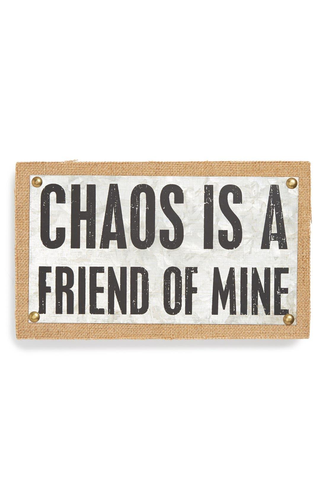 Main Image - Primitives by Kathy 'Chaos' Metal Box Sign