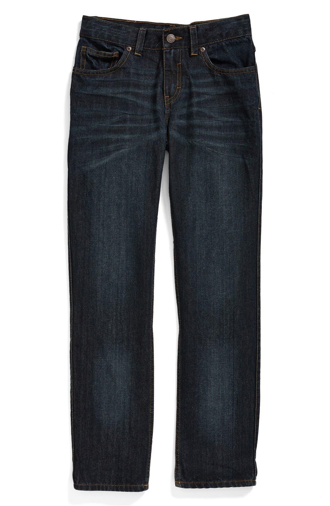 Alternate Image 1 Selected - Tucker + Tate 'Townsend' Straight Leg Jeans (Toddler Boys & Little Boys)