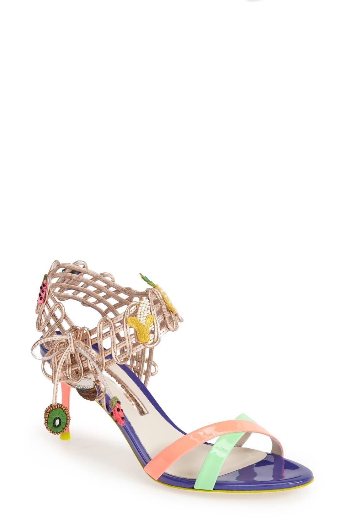 Alternate Image 1 Selected - Sophia Webster 'Delphine Fruit' Sandal (Women)
