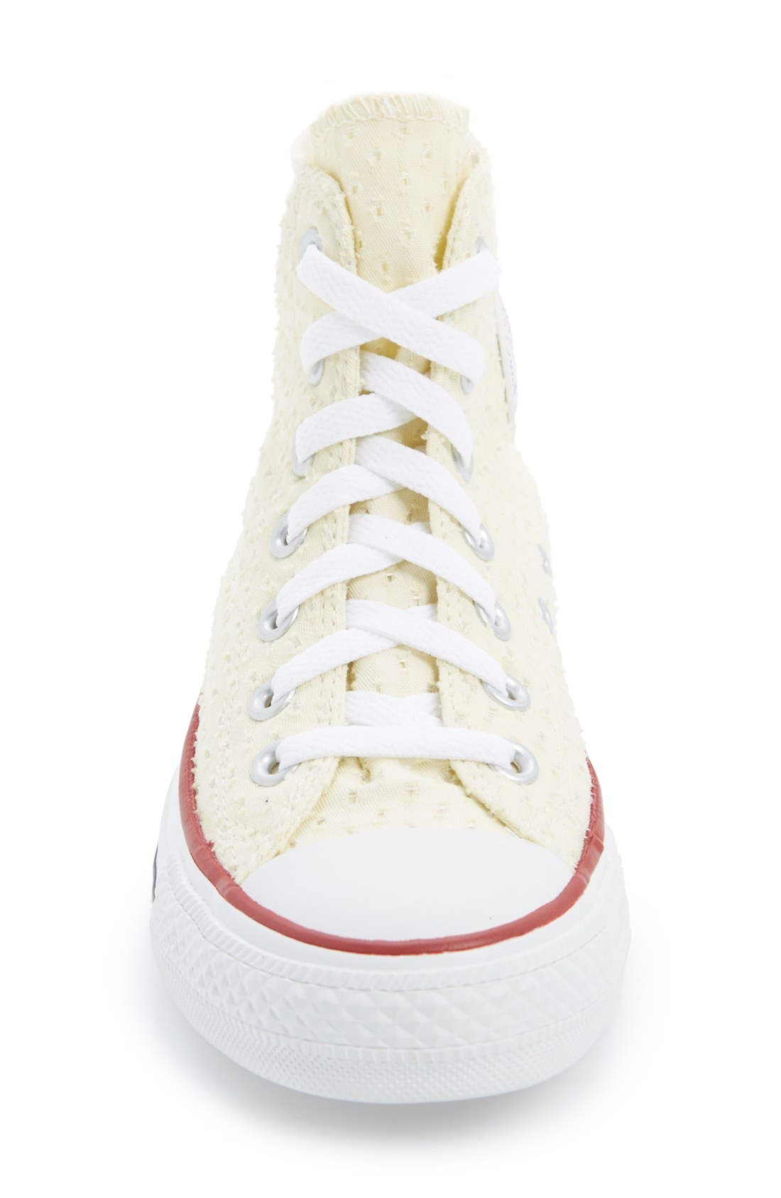 Alternate Image 3  - Converse Chuck Taylor® All Star® Eyelet Perforated High Top Sneaker (Women)