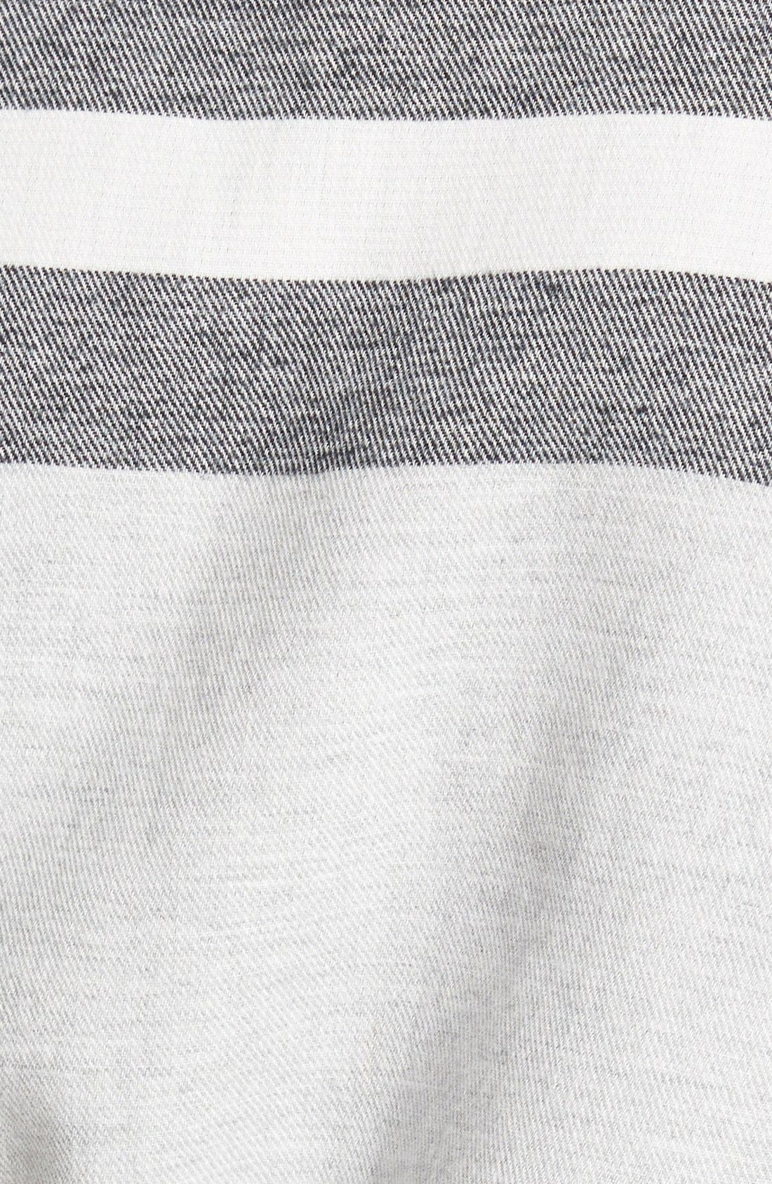 Alternate Image 3  - Hinge Stripe Cape