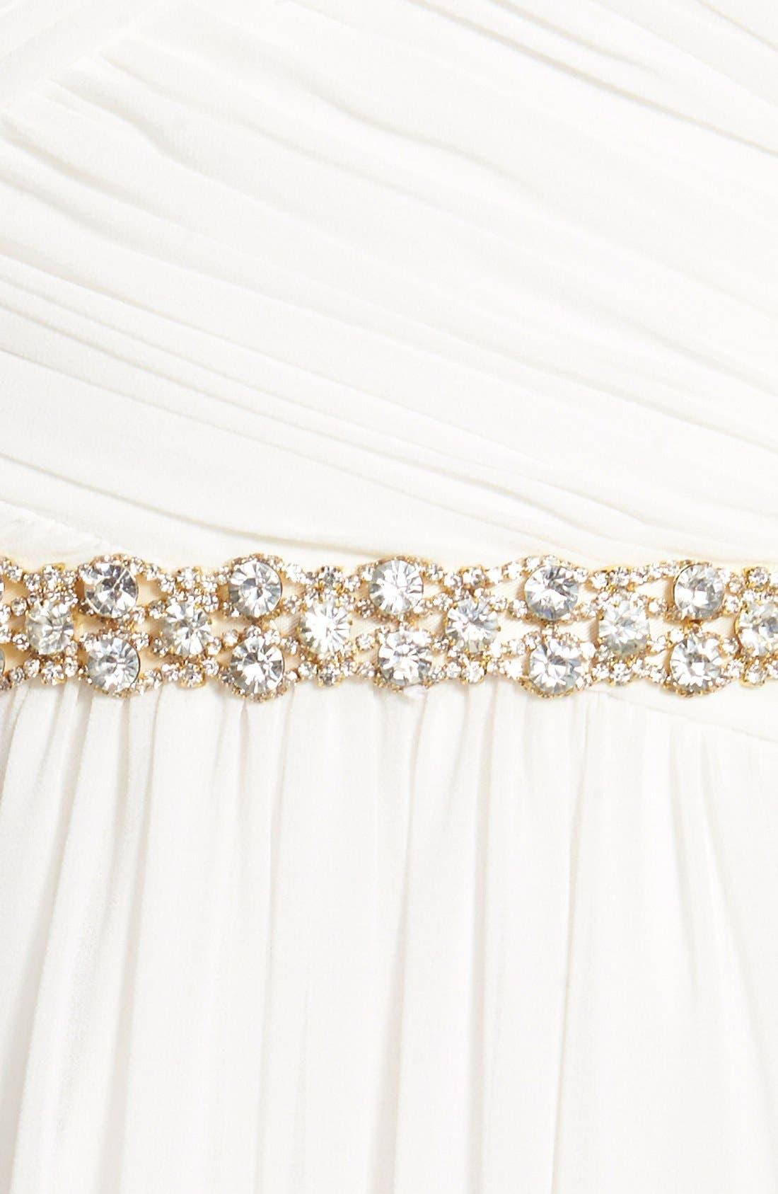 Alternate Image 3  - Nina 'Onasis' Single Row Crystal Sash Belt
