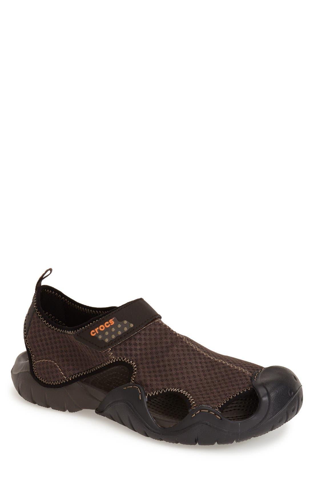 CROCS™ 'Swiftwater' Water Shoe Sport Sandal