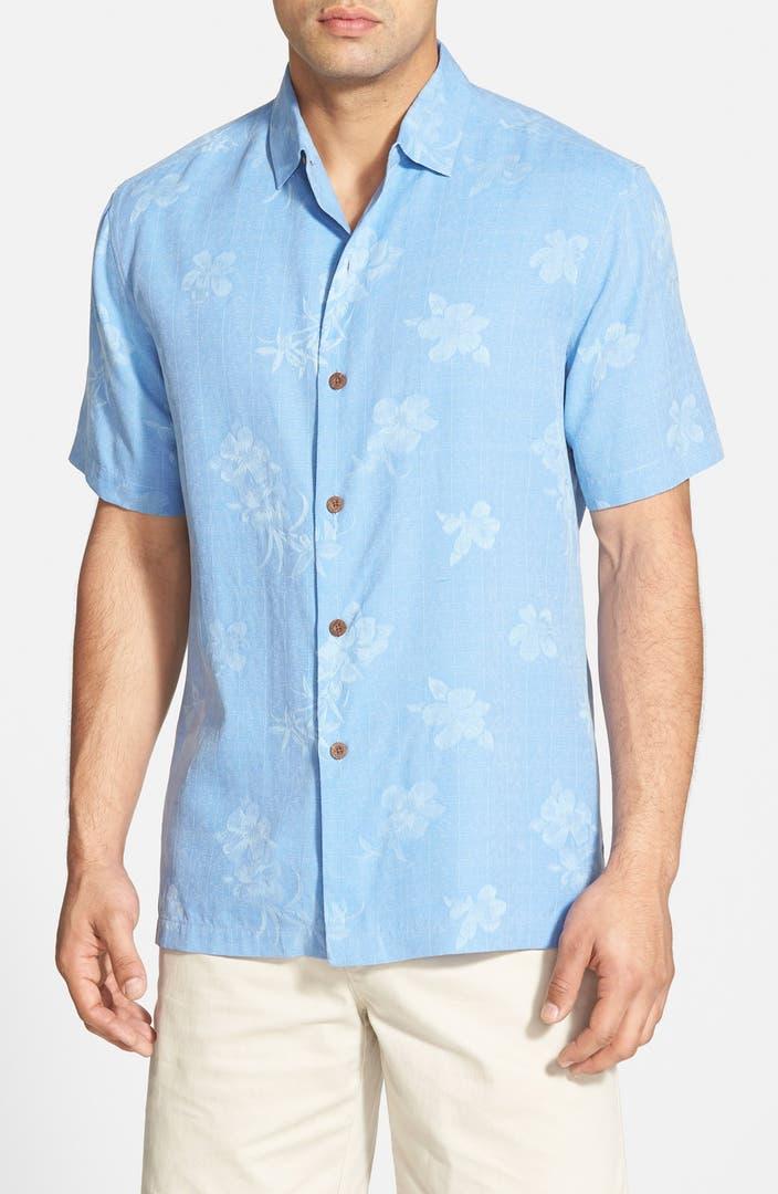 Tommy Bahama 39 Aloha Floral 39 Silk Camp Shirt Big Tall