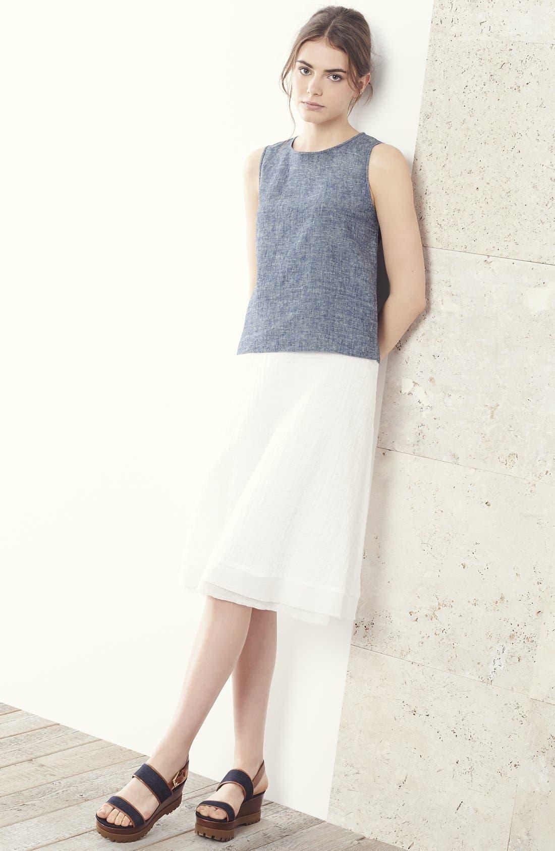 Alternate Image 4  - Eileen Fisher A-Line Skirt (Regular & Petite)