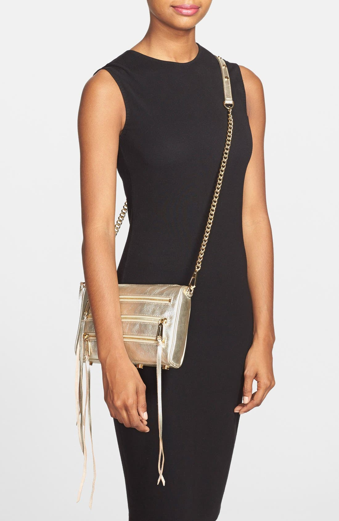 Alternate Image 2  - Rebecca Minkoff 'Mini 5 Zip' Crossbody Bag