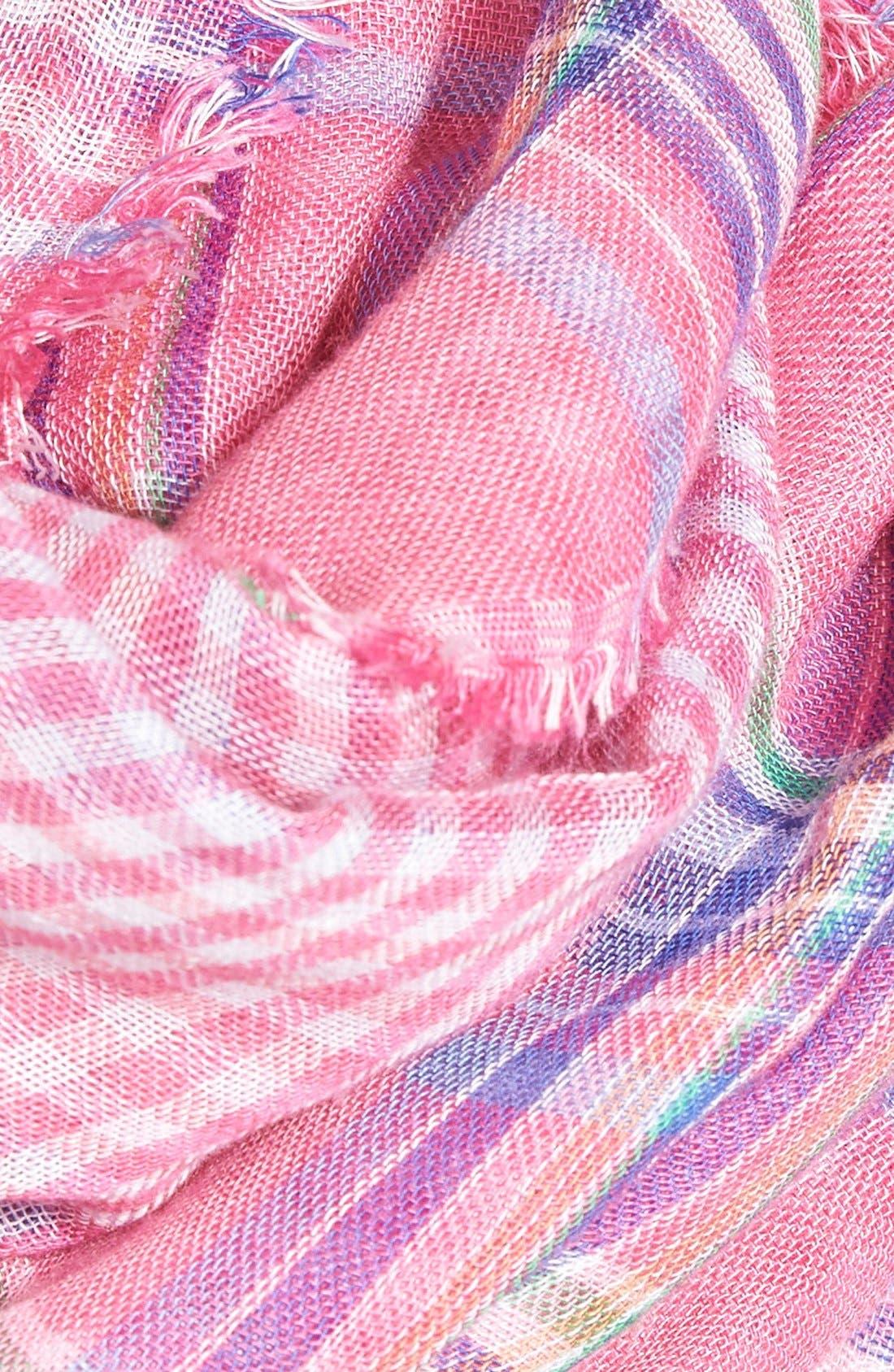 Alternate Image 3  - Lauren Ralph Lauren 'Lily' Plaid Infinity Scarf