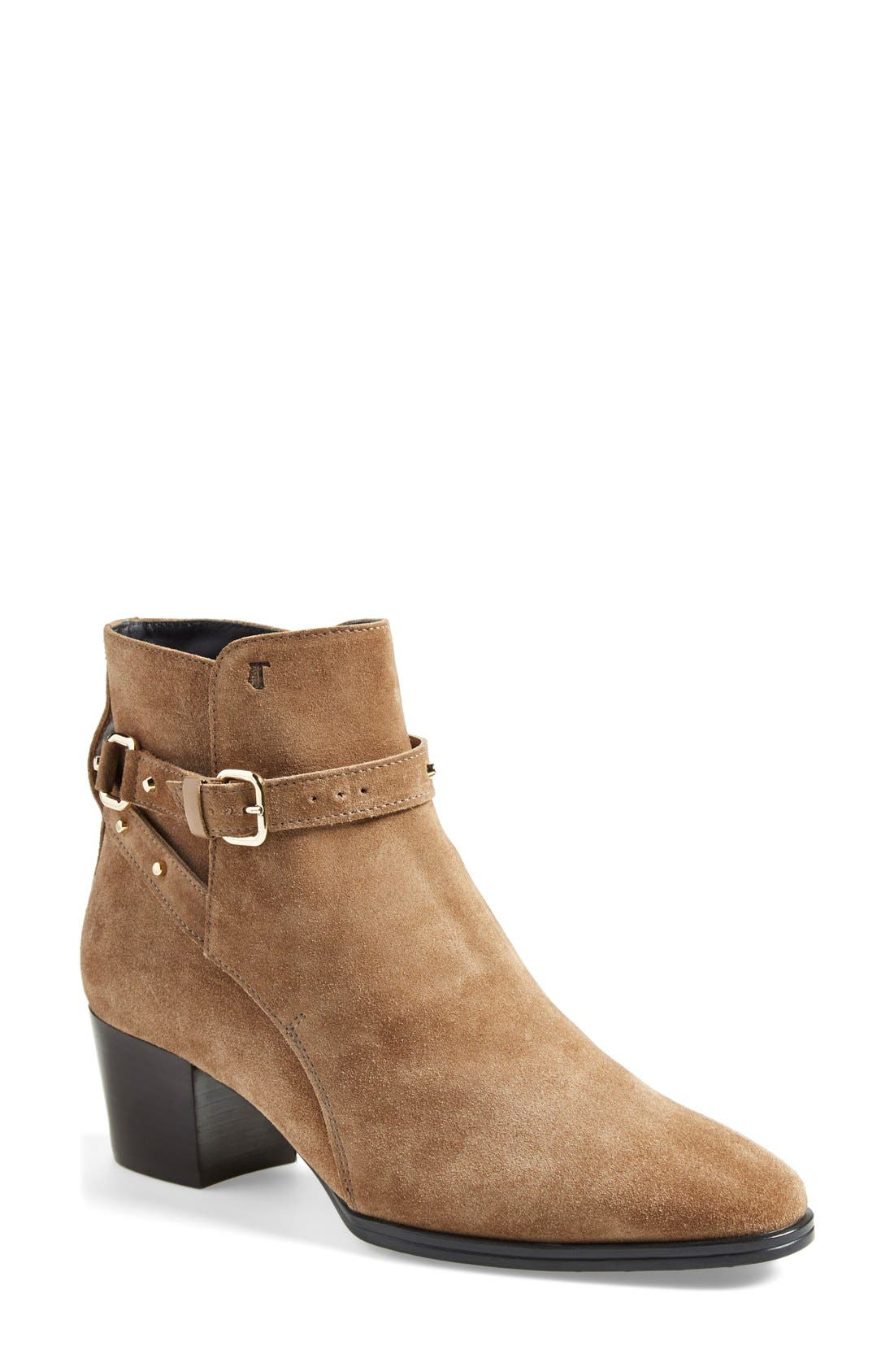 Main Image - Tod's Studded Bootie (Women)