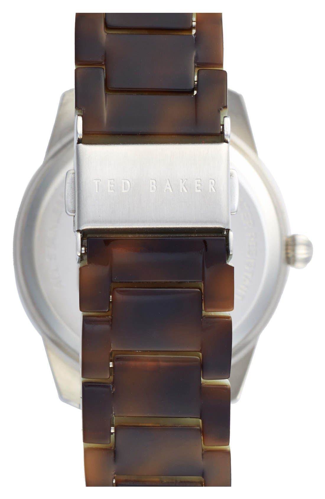 Alternate Image 2  - Ted Baker London 'Classic Charm' Bracelet Watch, 36mm