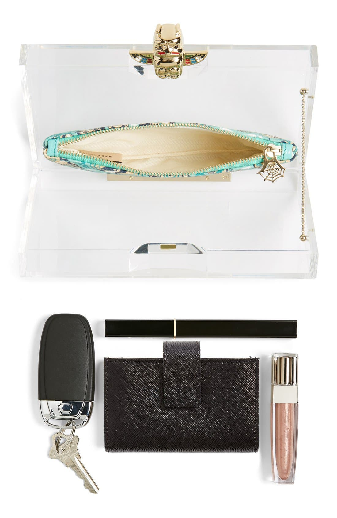 Alternate Image 7  - Charlotte Olympia 'Pandora' Clutch with Zip Pouches