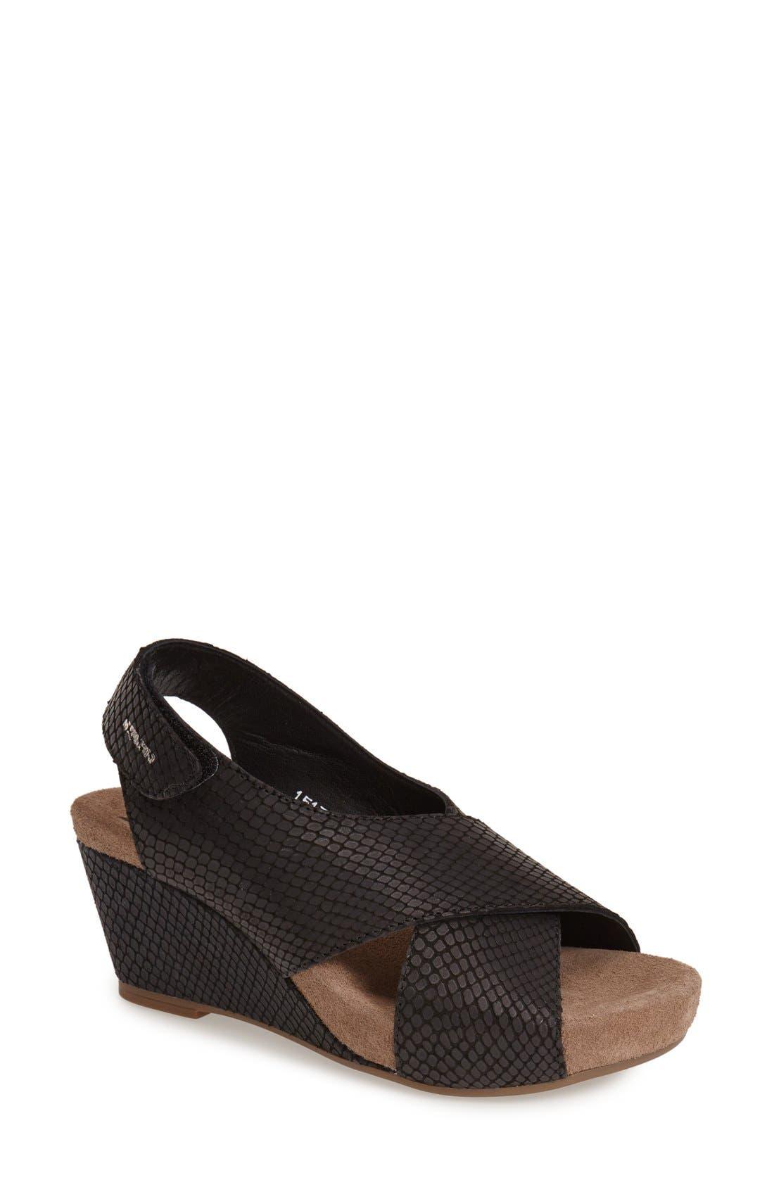 Alternate Image 1 Selected - Mephisto 'Belina' Slingback Wedge Sandal (Women)