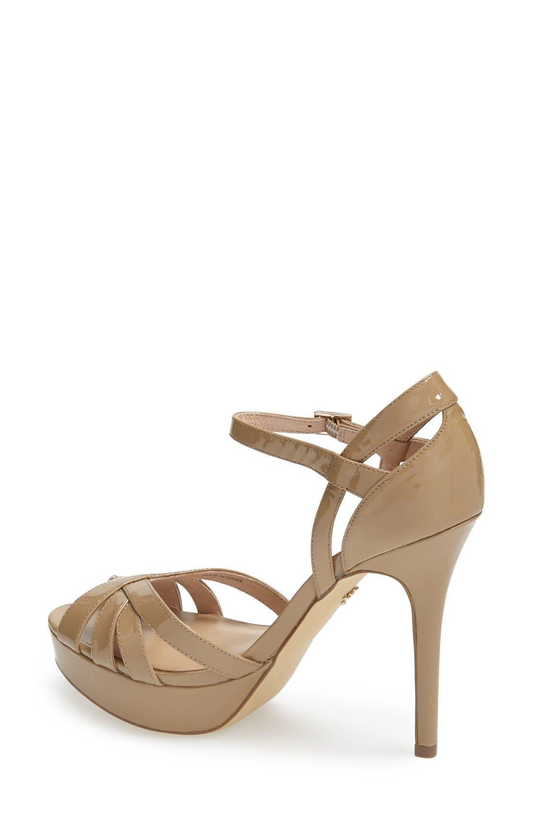 Alternate Image 2  - Nina Originals 'Senora' Ankle Strap Sandal (Women)