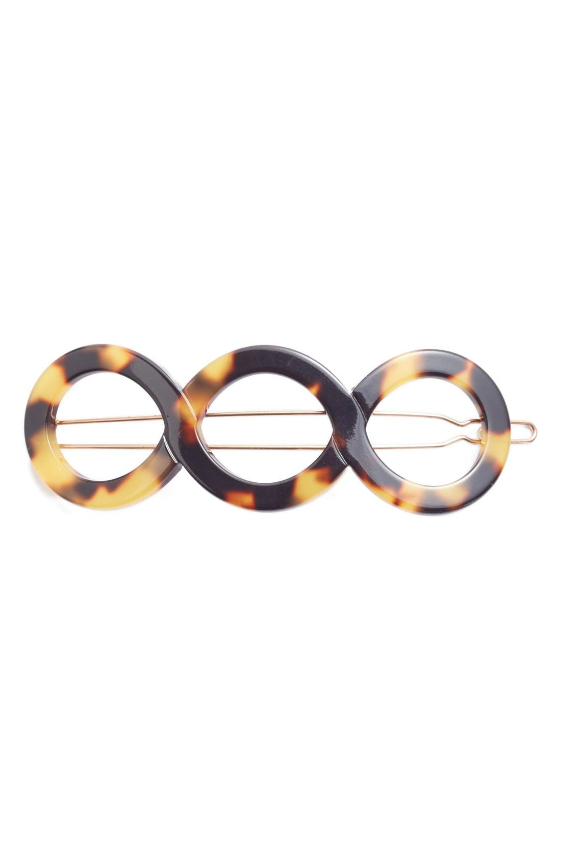 FRANCE LUXE Triple Circle Tige Boule Barrette