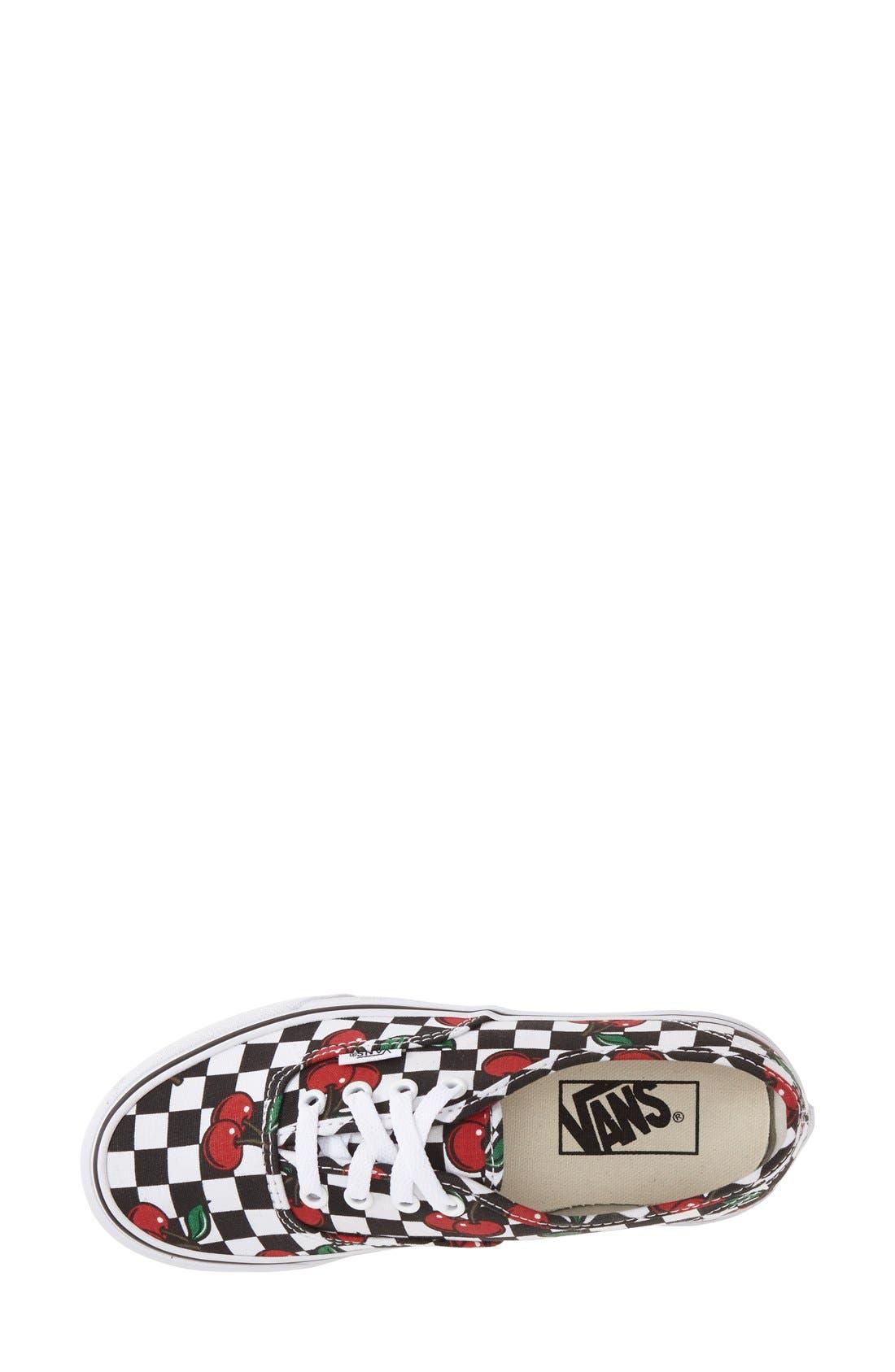 Alternate Image 3  - Vans 'Authentic - Cherry' Sneaker (Women)