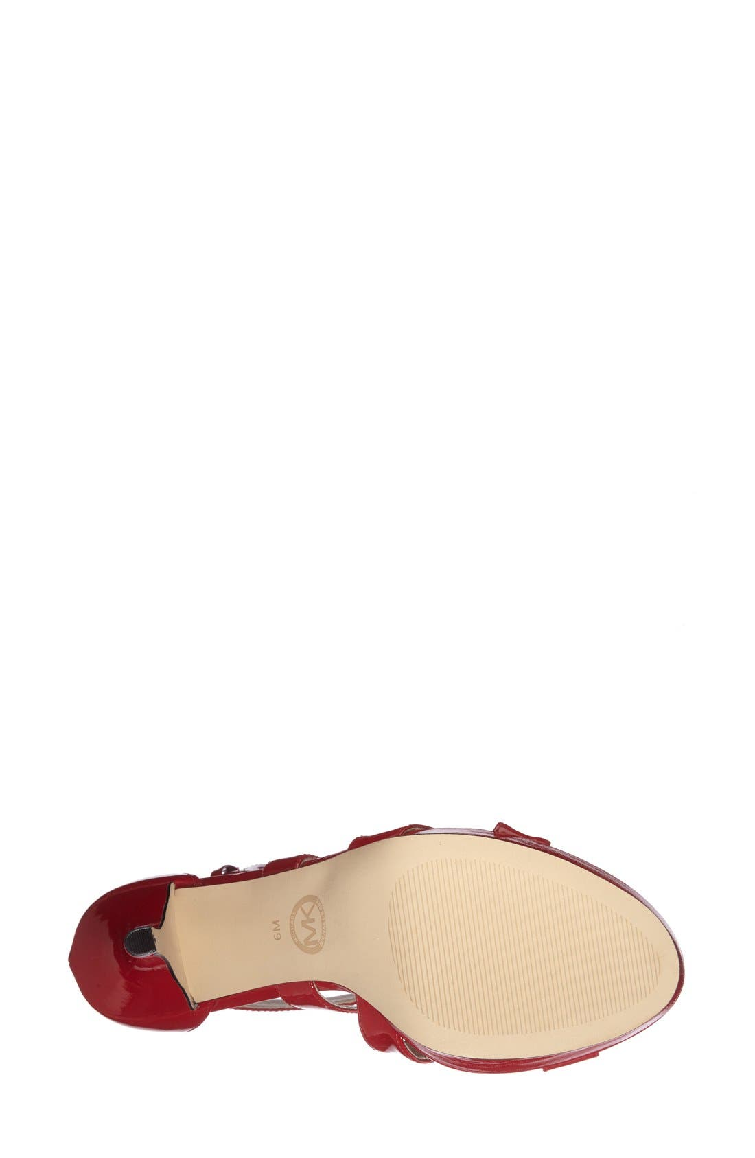 Alternate Image 4  - MICHAEL Michael Kors 'Evie' Platform Sandal (Women)