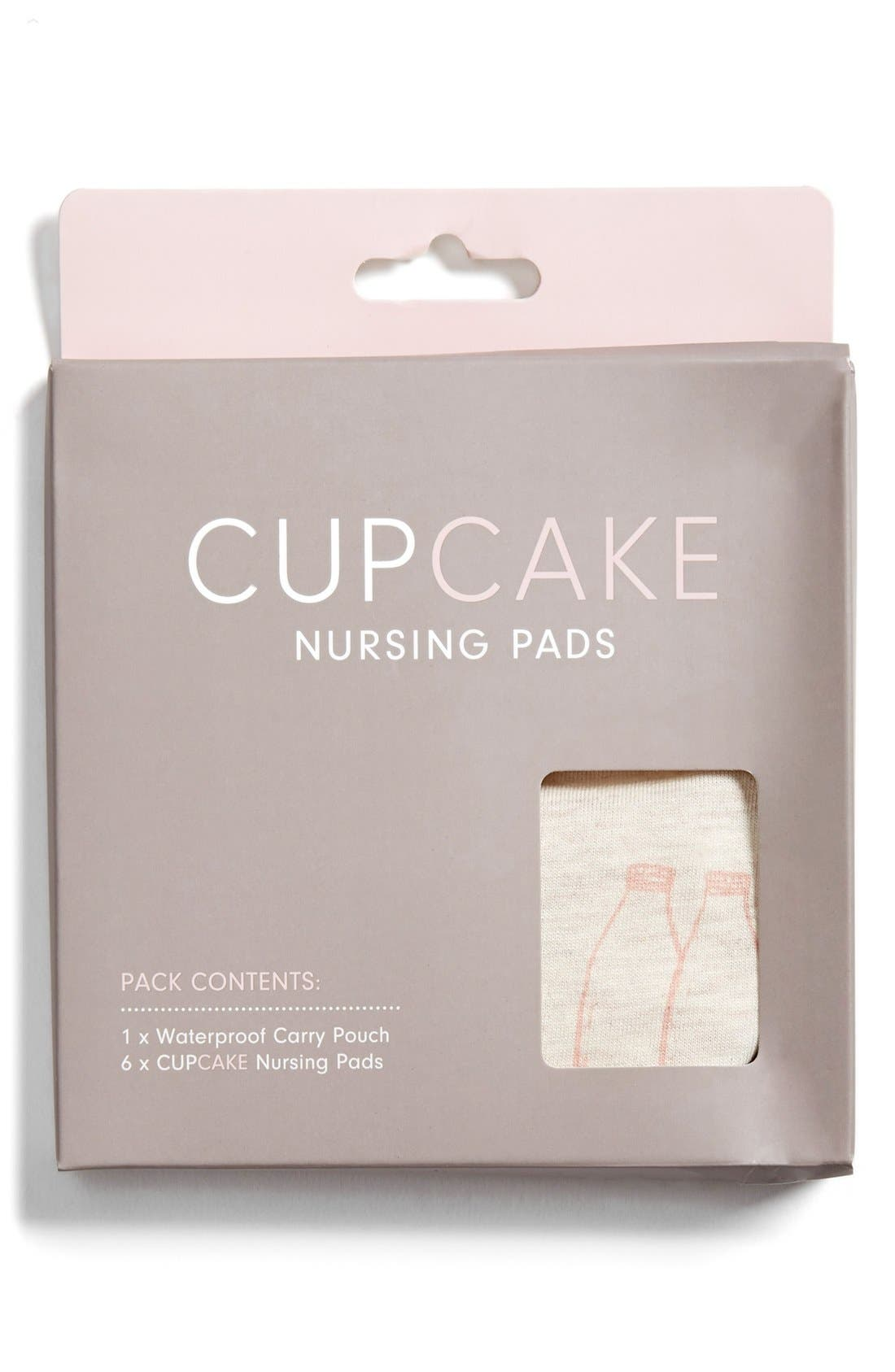 Alternate Image 1 Selected - Cake 'Cupcake 3 Light' Organic Cotton Nursing Pads (6-Pack)