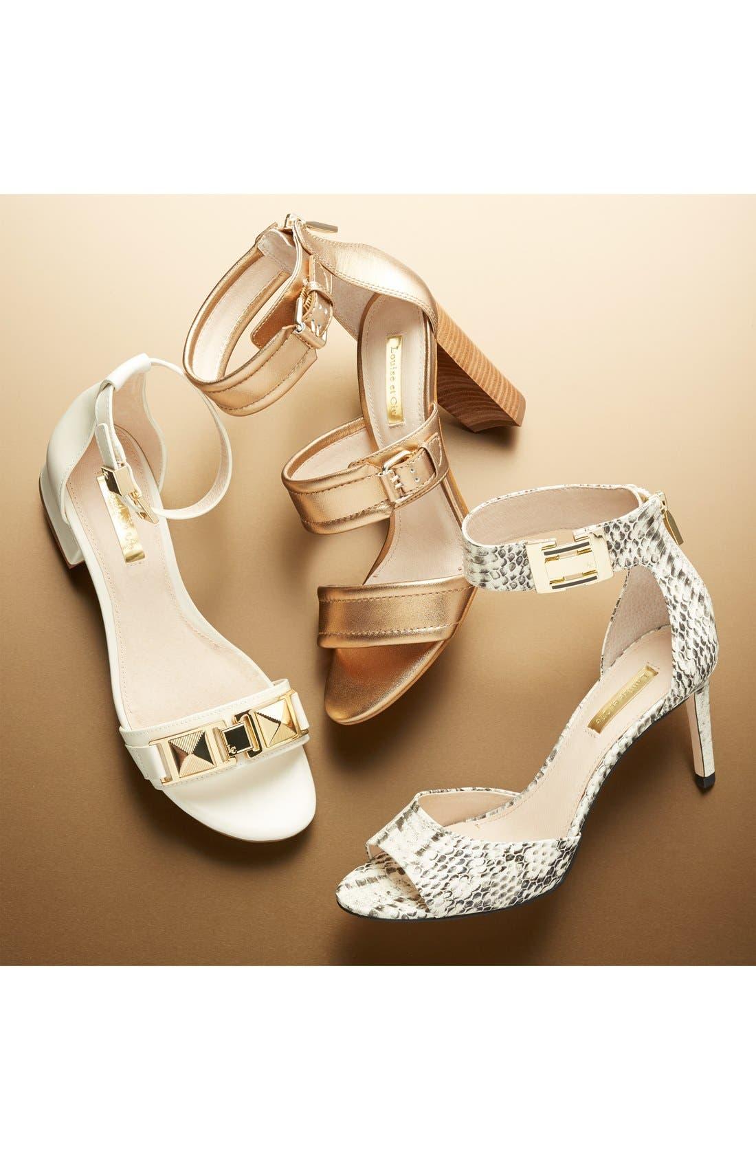Alternate Image 7  - Louise et Cie 'Isabelle' Ankle Strap Sandal (Women)