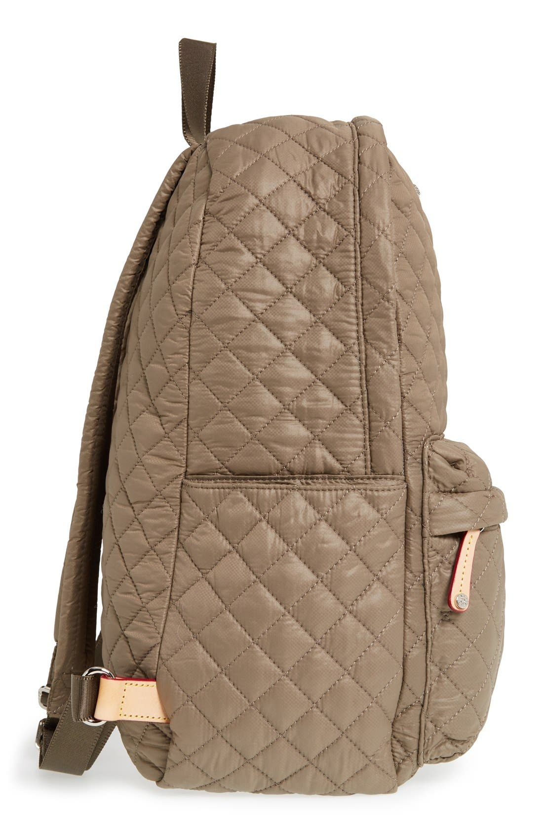 Alternate Image 5  - MZ Wallace 'Metro' Quilted Oxford Nylon Backpack