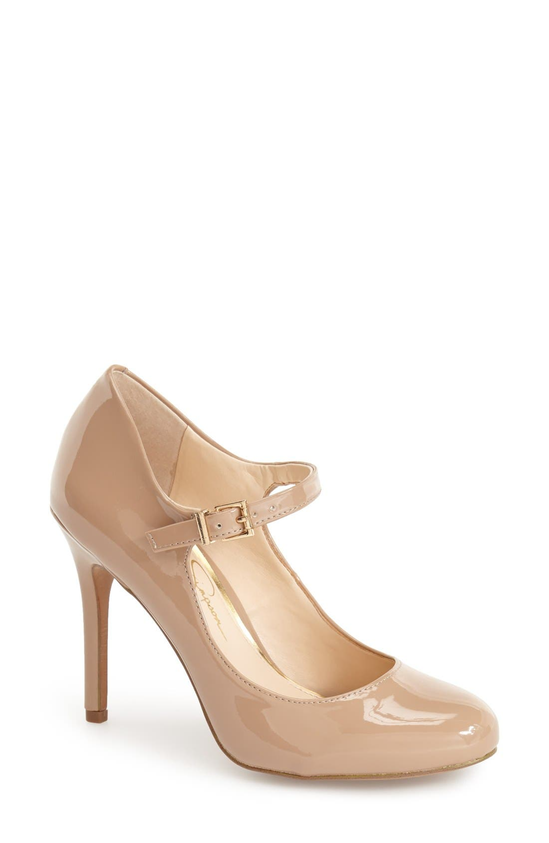 Alternate Image 1 Selected - Jessica Simpson 'Raelyn' Mary Jane Pump (Women)