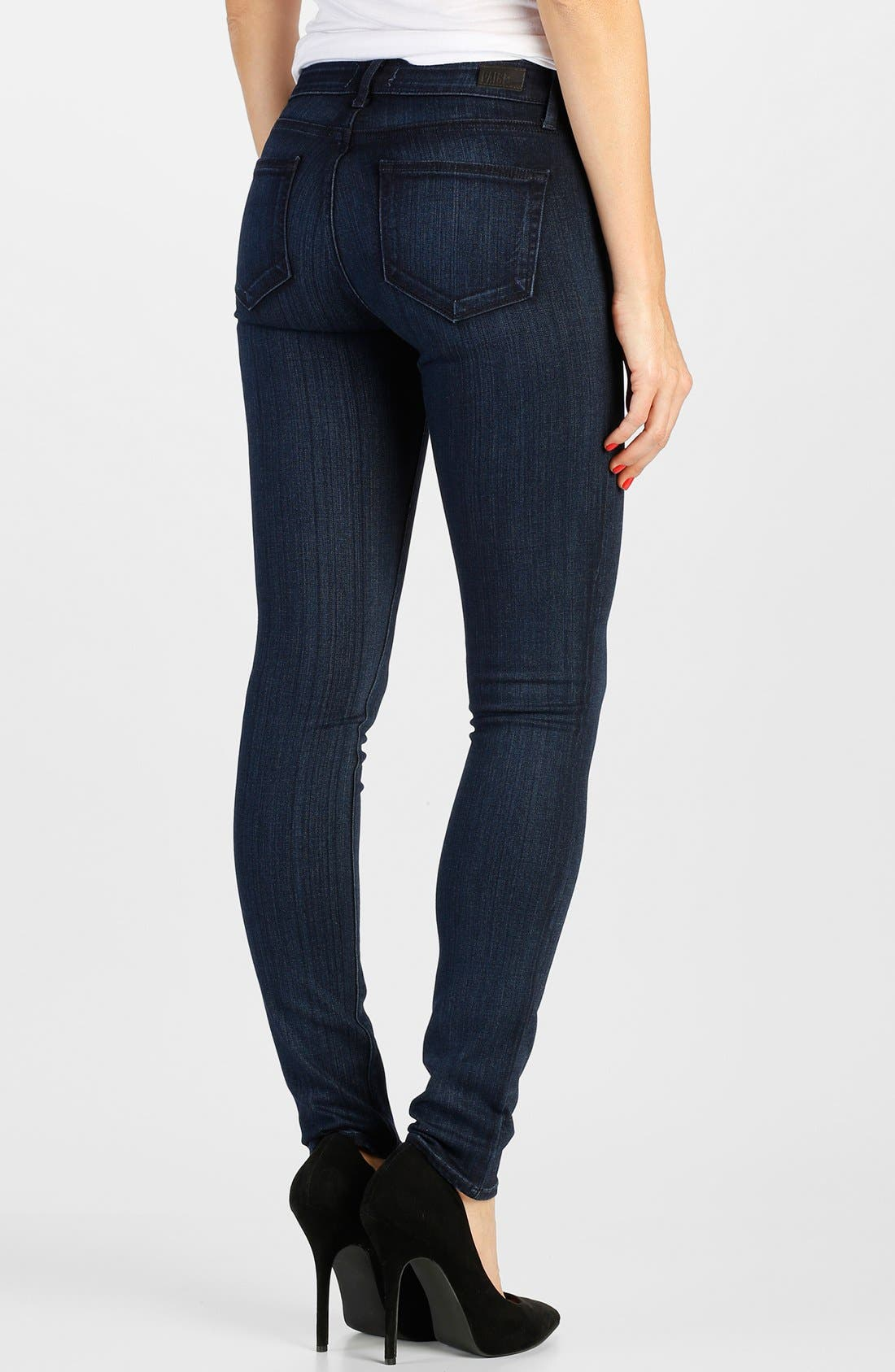 Alternate Image 2  - Paige Denim 'Transcend - Verdugo' Ultra Skinny Jeans (Georgie)