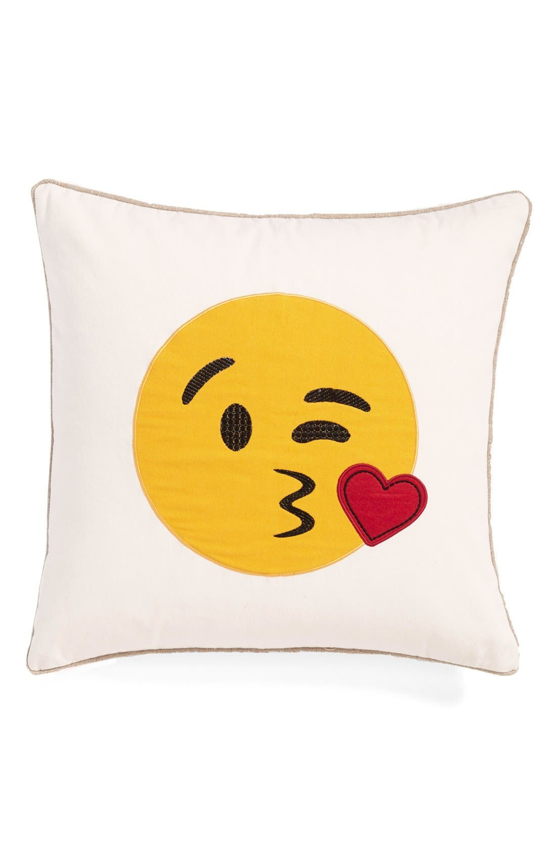 Alternate Image 1 Selected - Levtex 'Blowing Kisses' Pillow