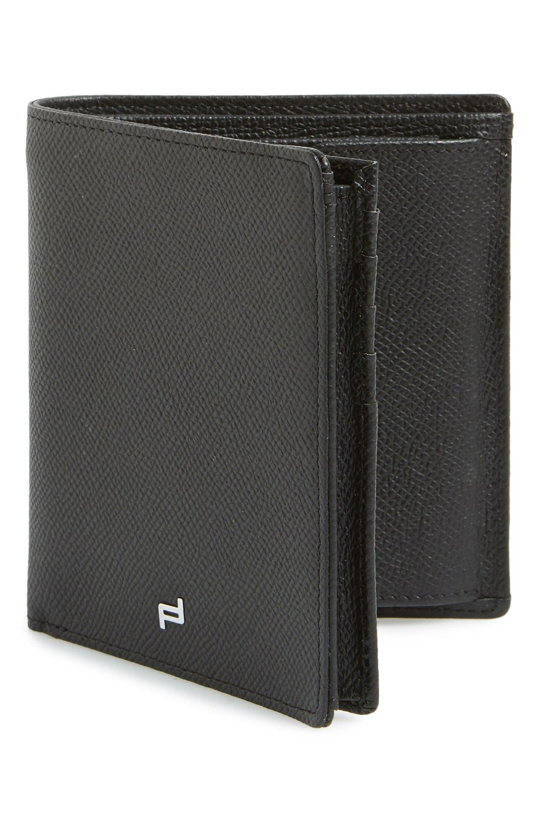 PORSCHE DESIGN 'FC 3.0' Leather Billfold Wallet
