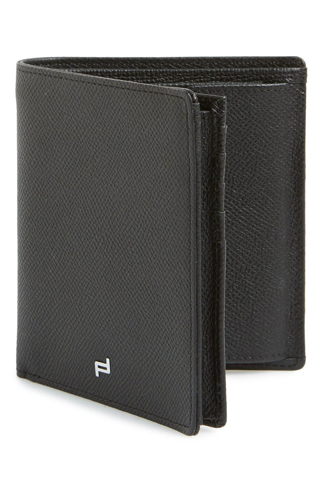 PORSCHE DESIGN 'FC 3.0' Leather Billfold Wallet