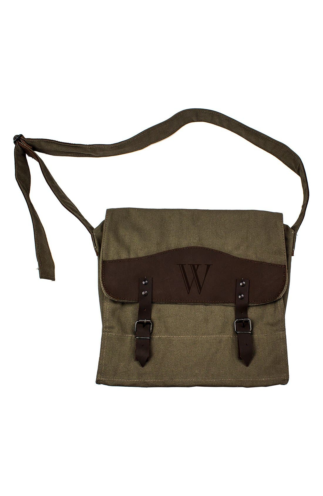 Alternate Image 3  - Cathy's Concepts Monogram Messenger Bag